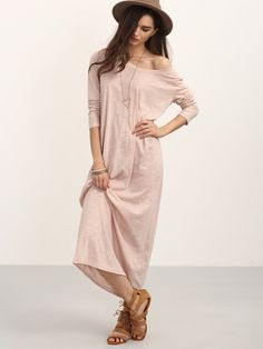 Shop Pink Casual Long Sleeve Shift Dress online. SheIn offers Pink Casual Long Sleeve Shift Dress & more to fit your fashionable needs.