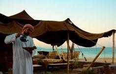 Cafe on the Beach - Habiba Camp - Egypt