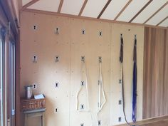 Yoga Wall Shack in Lambourn, West Berkshire, UK. Small garden studio. Contact: Jane Gwillim-David, jane.gd@longford.co.uk.