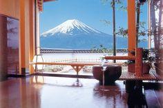 View: Mt. Fuji view | SELECTED ONSEN RYOKAN | best in japan, private hot spring hotel, open air bath