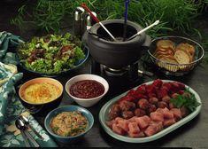 Unser beliebtes Rezept für Fleisch-Fondue und mehr als 55.000 weitere kostenlose Rezepte auf LECKER.de.