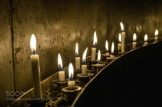 Prayer Candles by chriswtaylor  fire beauty travel religion church night light beautiful dark cathedral pray indoor candle flame can