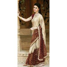@ $120 Classy Handwork Saree with FREE shipping worldwide offer.