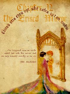 My illustration of Harry Potter  The Erised Mirror