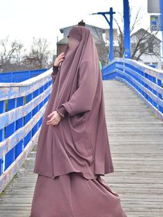 Hoor Two Piece Jilbab With Skirt Afghan Style High Quality | Etsy My Wife Is, Niqab, Muslim Fashion, Cold Day, Fashion Dresses, Abayas, Skirts, Sisters, How To Wear