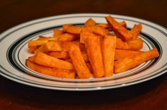 One Day At A Time - From My Kitchen To Yours: Oven Roasted Sweet Potato Fries