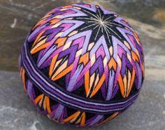 Phoenix Feathers temari ball