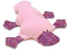 How can a fuzzy stuffed platypus not make you smile a little bit? :o)