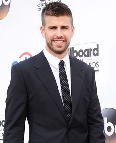 Gerard Pique Defender, Spain Plays for Spanish club FC Barcelona Height: 6'4'' Age: 27 Fun fact: His girlfriend is the mega pop-star Shakira.