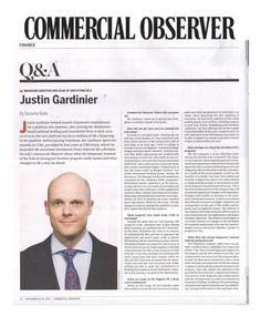 Commercial Observer features a Q&A with @Greystone's managing director and head of the company's EB-5 program, Justin Gardinier. The piece highlights Gardinier's stance on the program and the temporary renewal.  #Client #RealEstate #Finance #EB5