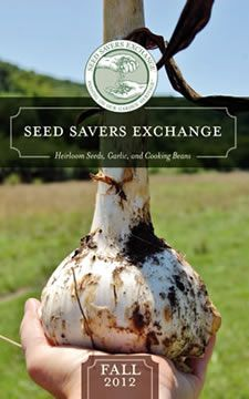 Seed Savers Exchange - Because beating Monsanto's GMO monster and preserving our farming history is important! L #monsanto #gmo #geneticallymodified
