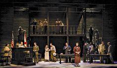 To Kill a Mockingbird. Arizona Theatre Company. Set design by Hugh Landwehr. 2008