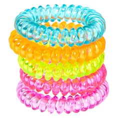 Shop Claire's for the latest trends in jewelry & accessories for girls, teens, & tweens. Find must-have hair accessories, stylish beauty products & more. Kids Jewelry, Cute Jewelry, Claires Bows, Essie Nail Polish Colors, 90s Accessories, Unicorn Fashion, Diy Crafts For Girls, Neon Hair, Hair Ties