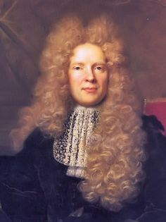 3. Seventeenth Century: Powdered peruke wig, bib-like collar that developed in the 2nd third of the 17th century.
