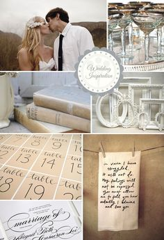 How To: Ivory Vintage Chic Wedding Inspiration | WeddingWire: The Blog
