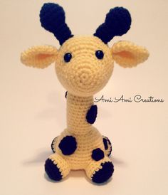 Amigurumi Giraffe by AmiAmiCreations