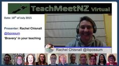 TeachMeetNZ presents Rachel Chisnall Video Link, Reflection, Presentation, Dating, Star Wars, Presents, Teaching, Education, Brave