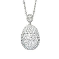 Fabergé Zaritsa Diamond Pendant #Fabergé #diamond #FabergéEgg #pendant
