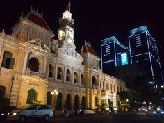 City Hall, Ho Chi Minh City - Vietnam.