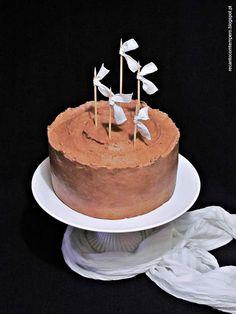 Bolo de chocolate e cheesecake