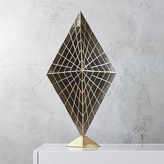 solace capiz table lamp | CB2