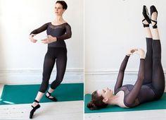 O balé tonifica as pernas, afina a cintura e é um exercício eróbico e tanto para qeum quer perder aquela barriguinha! - Veja mais em: http://www.vilamulher.com.br/bem-estar/fitness/5-exercicios-do-bale-que-ajudam-a-endurecer-bumbum-e-coxas-11-1-68-551.html?pinterest-mat