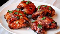 Pressure Cooker Asian Sticky Ginger Chicken Thighs