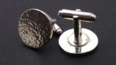 Sterling silver cufflinks by Steven Corfield Design