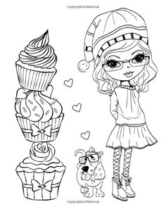 Morning Tea Cupcake Heaven: Yummy Adult Coloring Journal Book (Adult Coloring Books) (Volume 4): Sue Messruther: 9781519202956: AmazonSmile: Books