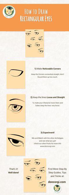 How to Draw Eyes - Smokey Sexy Eyes by Don Corgi
