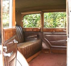 Rolls Royce 20/25 Limousine Interior