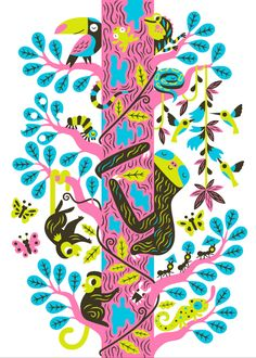 """SLOTH 4 colored silkscreen print 50 × 70 cm (19.7 × 27.6"""") in size on Favini Shiro Echo 250g paper. Limited Edition of 60. Signed and numbered. By Till Hafenbrak"""