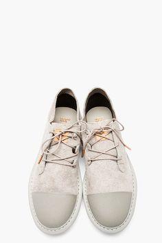 Adidas Grey Suede.