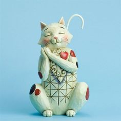 Jim Shore Heartwood Creek Heart Full Of Love-Love Cat 4031207