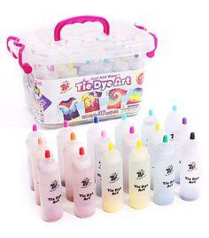 TBC The Best Crafts 59 Pieces Tie-Dye Kit for Kids. 5 Colours Rainbow set, With Bonus Tie Dye Powder Refiils Packs Watercolor Cake, Pen And Watercolor, Diy Kits, Craft Kits, Tie Dye Supplies, Vegetable Rack, Clothes Dye, Tie Dye Kit, Acrylic Paint Set