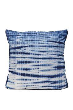 Do Or Tie-Dye Pillow - Indigo
