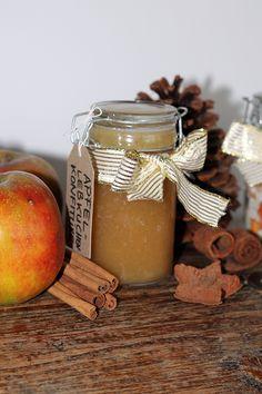 Rezept für eine weihnachtliche Apfel-Lebkuchen-Konfitüre.