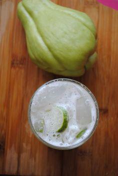 Ananas-Chayote-Gurke zur Gewichtsreduktion