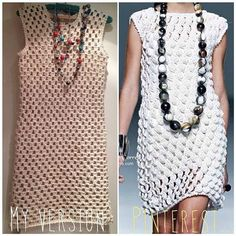 Sidney Artesanato: Um vestido simples....