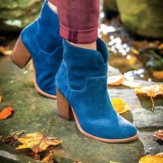 It takes confidence to follow in the footsteps of Elvis,  but who better to pull off an updated western bootie than a Southern girl?