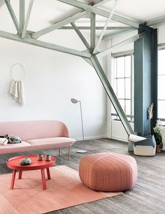 Love this combination of an industrial look with a touch of pink softness - fits my personality very well! Corporate Lawyer meets Transformation Catalyst.