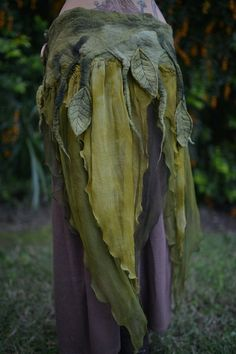 forest fairies woodland   ... Felted Melted Pixie Woodland Nymph Forest Fairy by frixiegirl, $206.00