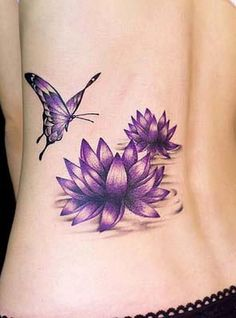 pink lotus tattoo - Google Search