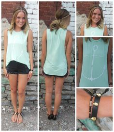 $21  We love this simple, comfy anchor tank!