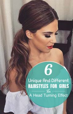 Scarcely can you see any girl who doesn't want to look different from others. The best way of changing your look is simply grabbing different hairstyles for girls. If you are on search of something different hair style ideas for girls go through this article, you will get here some #hairstraightenerbeauty #DifferentHairstyles #DifferentHairstylesforlonghair #DifferentHairstylesmedium #DifferentHairstylesforschooldifferent hairstyles ideas for girls.