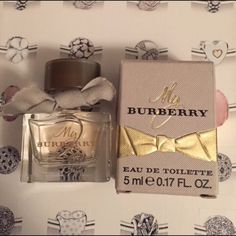 My burberry Perfume New never been used. 5 ML perfect for stcoking Other