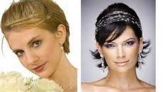 penteado para casamento cabelo curto - Bing images