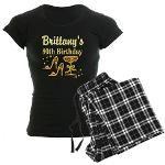 SPARKLING 30TH Women's Dark Pajamas http://www.cafepress.com/jlporiginals/12321759 #30yearsold #turning30 #Happy30thbirthday #30thbirthdaygift #Happy30th #Personalized30th #Custom30th