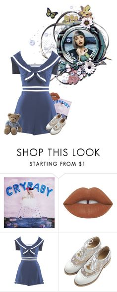 """""""Hmmmm"""" by asteroid-astraea ❤ liked on Polyvore featuring Lime Crime, Stop Staring! and Lexington"""