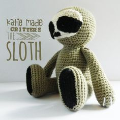 The Sloth by KatieMadeXO on Etsy